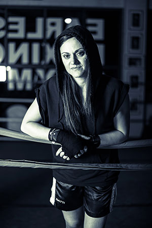 Natalie Amoré - superfly weight professional boxer