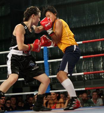 Natalie Amoré - Super Flyweight Professional Boxer